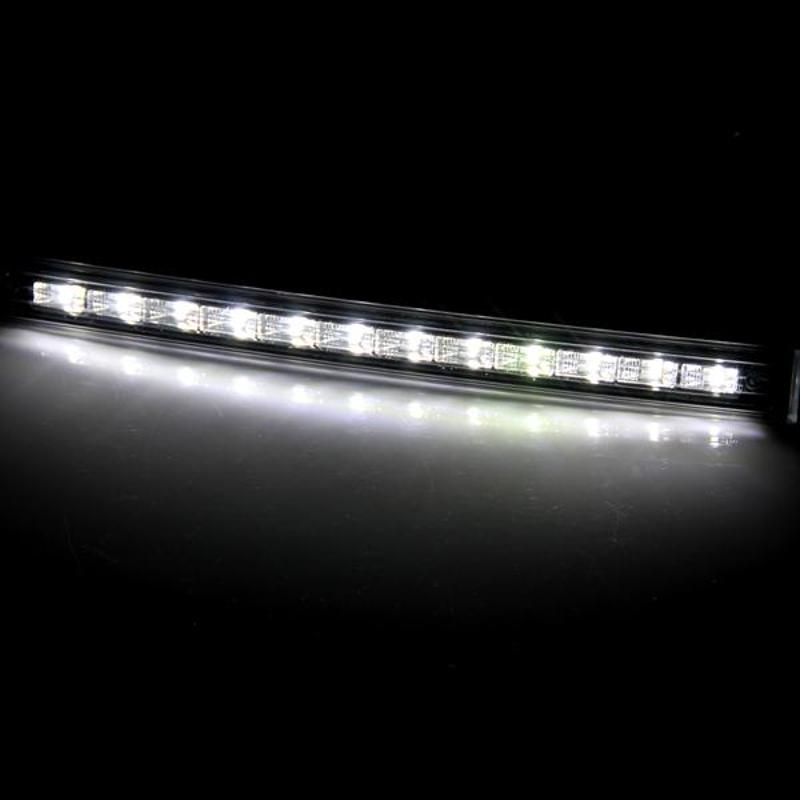 2 Pcs 12 LED Car Truck Day Running Light