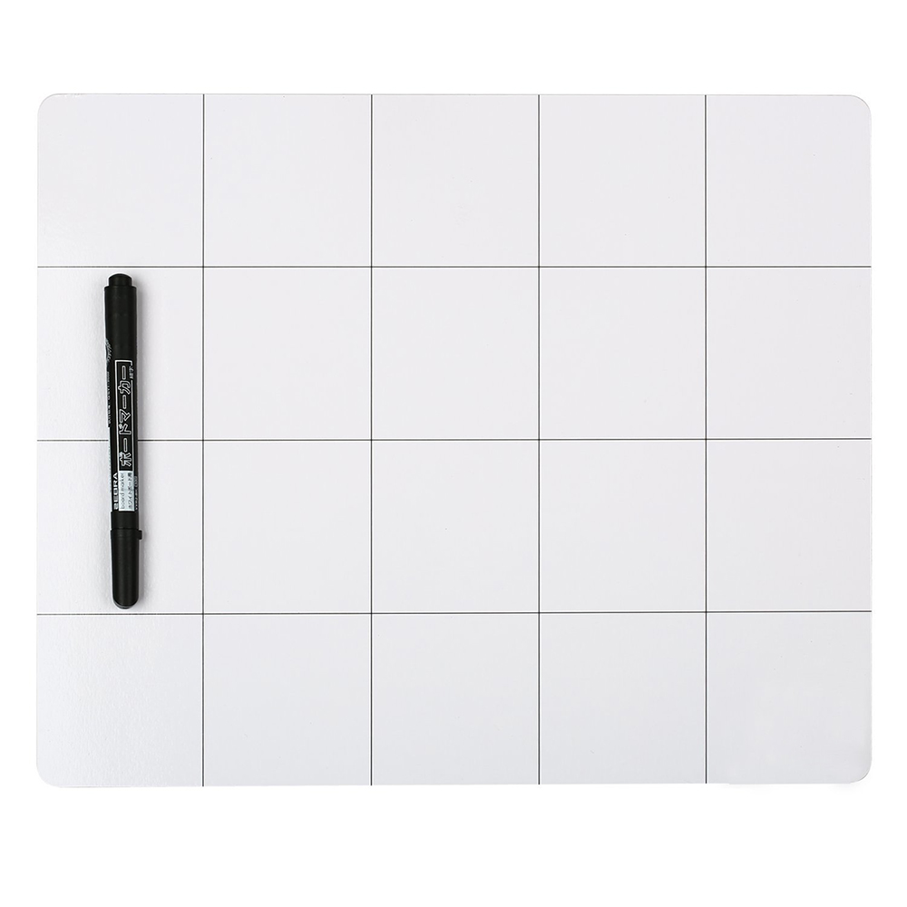 Magnetic Project Working Memory Pad Mat Screw Sort Adsorption Keeper Mobile Phone Laptop Repair Tools 25cm*20cm with Marker Pen