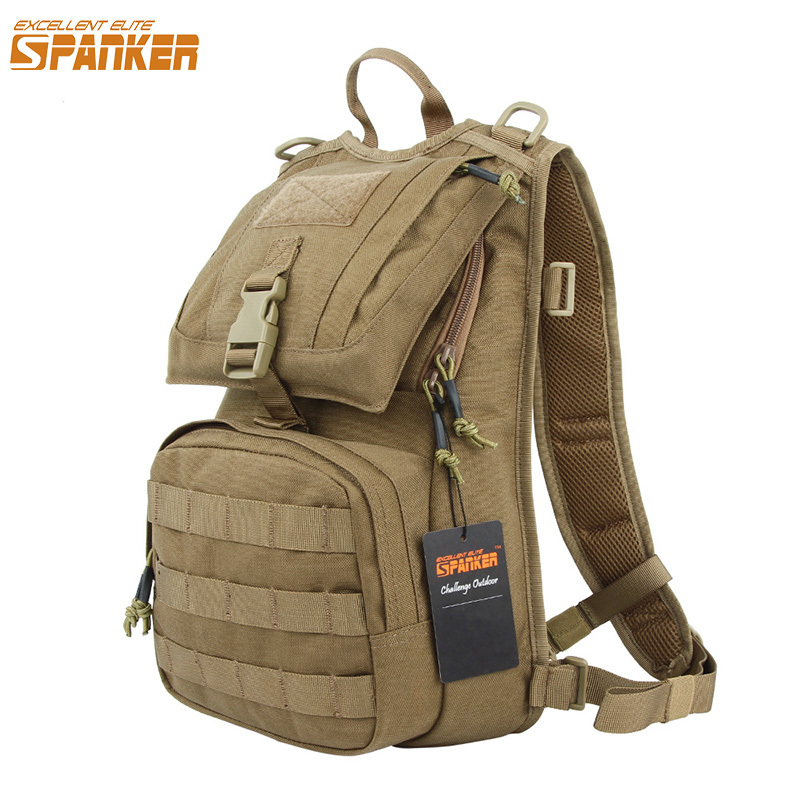 EXCELLENT ELITE SPANKER Waterproof Military Tactical Backpack Hunting Accessories Sport Bag Molle Tactical Pouch Hunting Bag excellent elite spanker outdoor military waterproof travel backpack army tactical hiking nylon bag molle hunting sport backpack