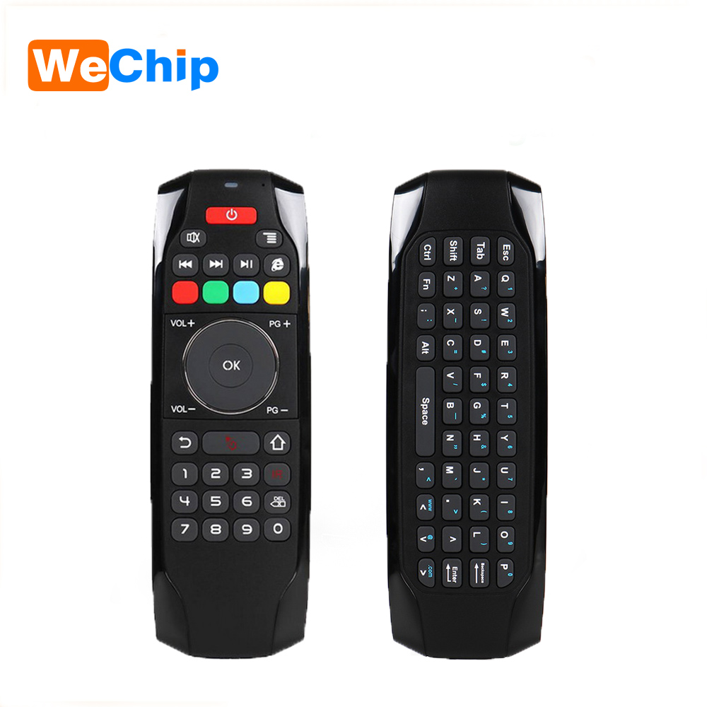 G7 Mini Wireless Keyboard 2.4GHz Fly Air Mouse Remote Control with IR Learning Function Motion Sensing Games For TV Box/Computer
