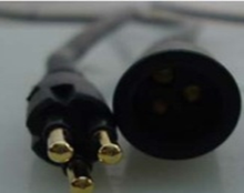 3-pin water-proof cable extension สำหรับ halless มอ(China)