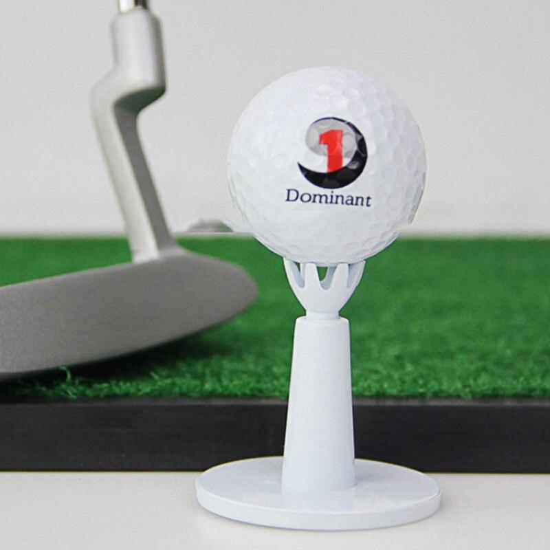 2pcs/pack Adjustable Range Tees White Plastic Golf Tees Golf Practice Tees Golf Accessories