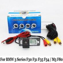 Автостоянка Камера Для BMW 3 Серии F30 F31 F35 GT/F34/М3 F80/RCA AUX Проводной Или Беспроводной/HD Ночного Видения Заднего Вида камера