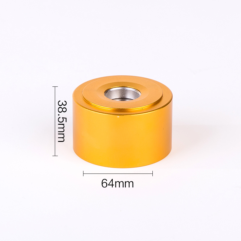 Aluminum shell gold sliver security tag detacher 16000GS eas magnet tag remover for Clothing Supermarket