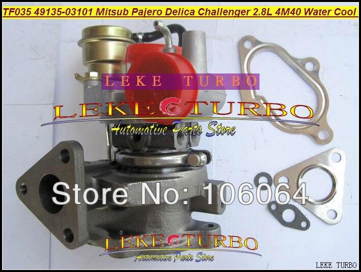 Турбокомпрессор с водяным охлаждением 49135-03100 49135 03100 4913503100 для Mitsubishi PAJERO Delica Challenger 4M40 2.8L