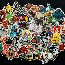 100PCS mixed decal Car Styling Skateboard Laptop Luggage Snowboard Car Fridge Phone DIY Vinyl Decal Motorcycle Sticker Covers(China)