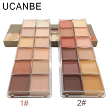 New Brand 12 Colors Base Primer Professional Makeup All Round Contour Highlighter FlawlessLong Lasting Concealer Palette