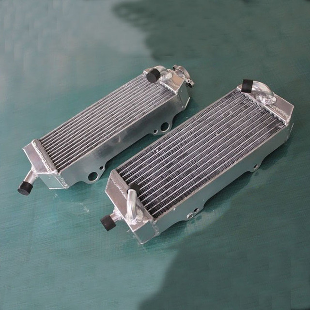 Jungle Army aluminum alloy radiator For KTM 400 450 525 SX/MXC/EXC 2003-2007 replacement parts engine cooling parts