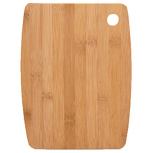 Lovely Oval Shape Nature Bamboo Chopping Board Environment Protection With Hanging Design Cutting Free Shipping
