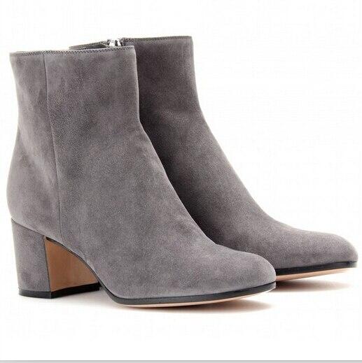 Top diseñador de botas la marca del tobillo del otoño botas de mujer zapatos 5af16b