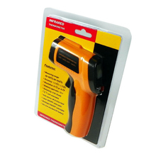 Handheld Digital thermometer gun non contact infrared thermometer laser Pyrometer professional industrial temperature gun IR цены