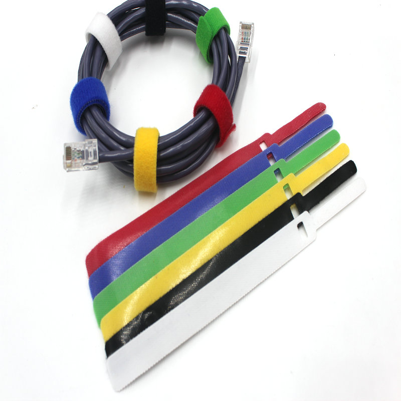 10 Stücke 11*145mm Rücken An Rücken Kabelbinder Wiederverwendbare ...