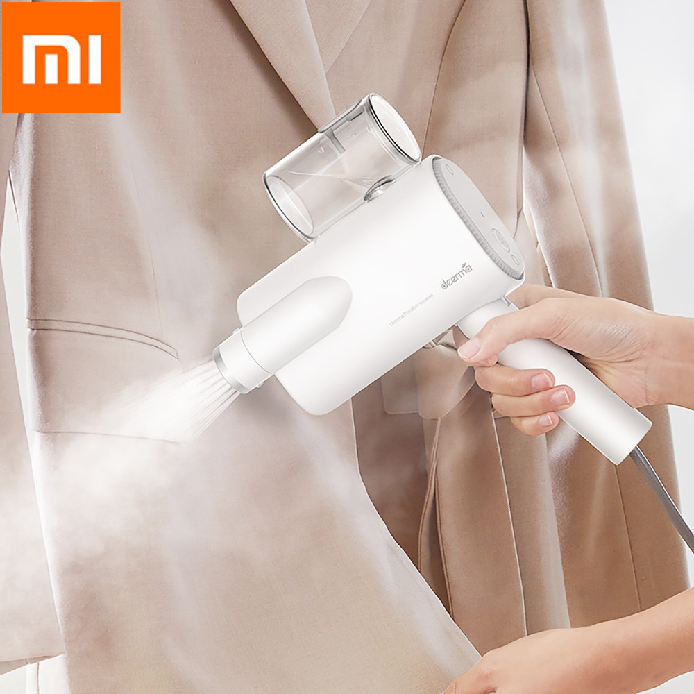 New Original Deerma xiaomi mijia 220V 800W Handheld Garment Steamer Mini Travel Portable Clothes Iron HS006-in Smart Remote Control from Consumer Electronics    1
