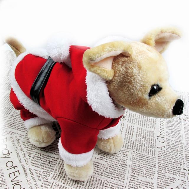 hot dog christmas costumes pet dog cat xmas costume winter warm clothes