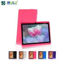 IRULU X3 Android Tablet PC 1 16 GB Allwinner A33 Quad Core 7 pulgadas 1024*600 HD Eyeshield Netbook de pantalla Teclado RUSO Opciones