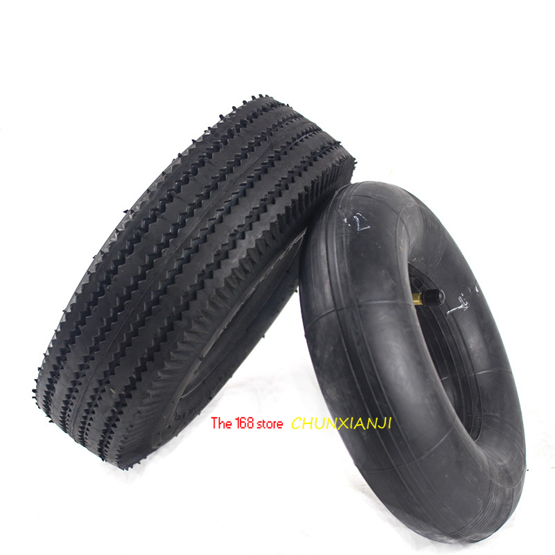 10 Inch Tyre 4.10/3.50-4 Tyres 4.10-4 3.50-4 Tires And Inner Tube Fit Electric Tricycle, Trolley,Electric Scooter,warehouse Car