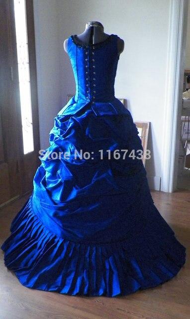 Victorian Steampunk Gothic Mardi Gras Venice Wedding Ball Gown ...