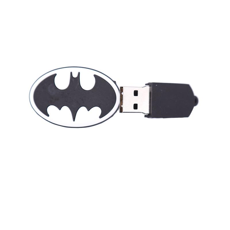USB stick cartoon super heros usb flash drive 4GB 8GB 16GB 32GB 64GB 128GB pen drive shield memory stick creative gift pendrive