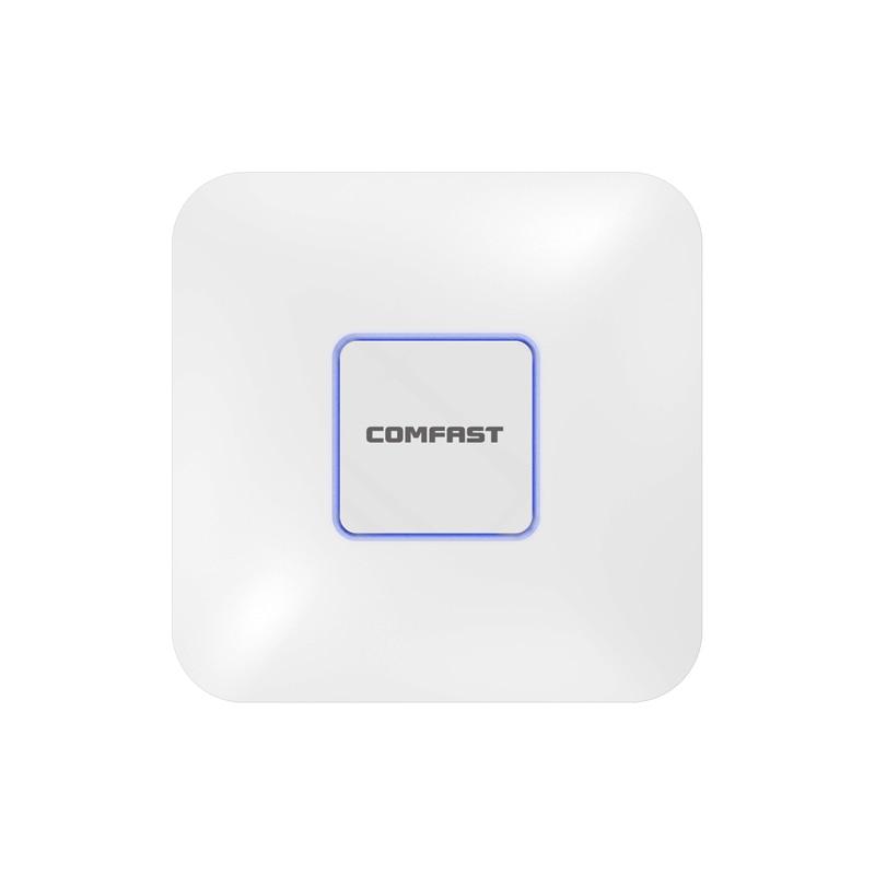 4 pcs Intérieur Routeur Sans Fil 1200 Mbps Plafond AP Routeur 2.4 ghz/5.8g WiFi Point D'accès AP pour hôtel 48 v POE WI-FI Signal Amplificateur