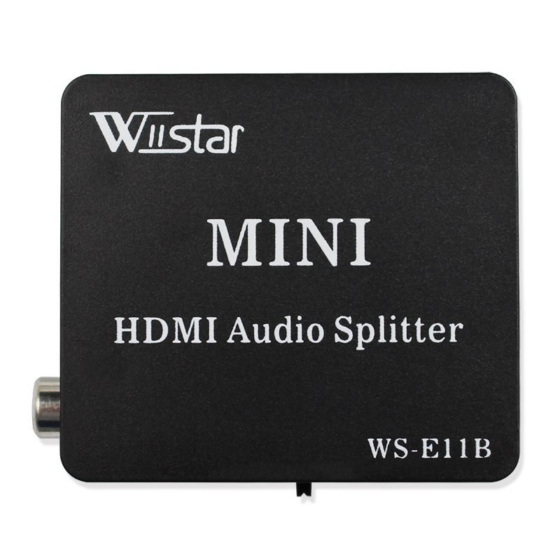 High Quality HDMI to HDMI Optical SPDIF Suppport 5.1 Audio Video Extractor Converter Splitter Adapter