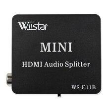 Высокое Качество HDMI к HDMI Оптический SPDIF Suppport 5.1 Аудио Видео Extractor Конвертер Splitter Адаптер
