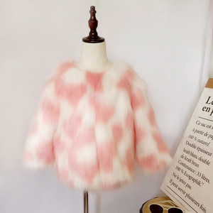 Image 3 - LILIGIRL Mädchen Winter Faux Pelz Jacke kinder Warme Mantel für Baby Bunte Outwear Jungen Hohe Qualität Pelz Jacken Tops kleidung