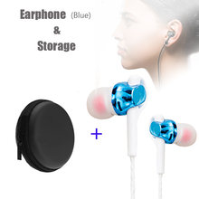 3.5mm Wired Earphone For IOS Android For Xiaomi Huawei Ear Hook Volume Microphone Sport Earphone Music In-Ear Luminous Headset(China)