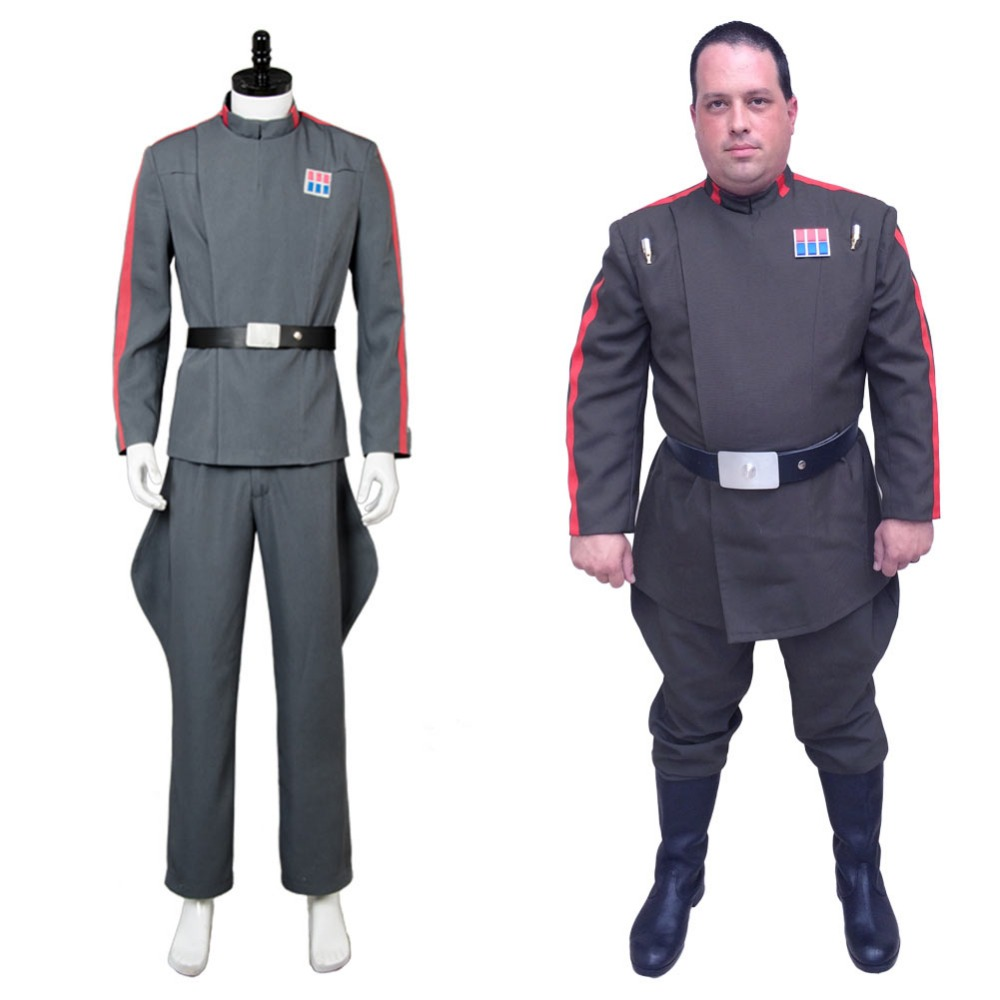 Star Wars Imperial 181st Tie Fighter Costume Cosplay Wing Pilot Officer Uniform: