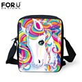 Kawaii Rainbow Horse School Bags Animation Kids Book Bag Boys Little Shoulder Bag Child Mochila Girls Schoolbag Children's Gift