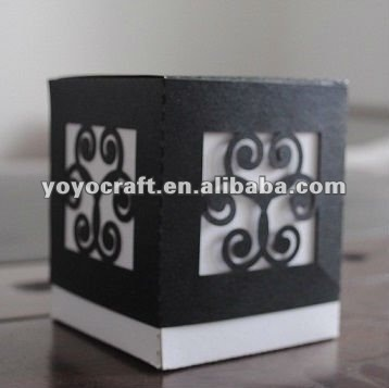 candy box chocolate box for wedding decoration with MOQ 50pcs personalized design