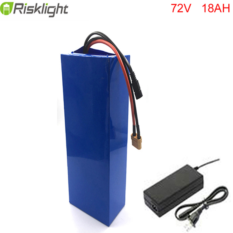 High grades rechargeable 18650 li ion battery 72v 18ah lithium battery pack long cycle life scooter battery with charger with battery box 18650 li ion battery batteria rechargeable cells for lazer pointer strong beam torch toys 9900mah 3 7v