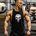 YVYVLOLO 2016 Homens Regata Longarina Gymshark Musculação Aptidão Singlets Undershirt Tanque Camisas Roupas Colete Muscular
