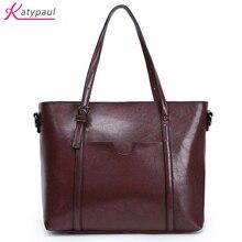 Известный бренд Bolsos Mujer модные женские туфли pu сумочка масла Воск кожа Для женщин мешок большой Ёмкость сумка большая дамы Сумки на плечо