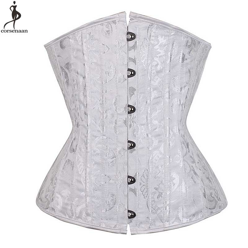 cbe1c6534f Detail Feedback Questions about Push Up Underbust Corset Spiral Steel Boned  Corsets Jacquard Floral Plus Size 6XL Outwear Bustier Waist Slim Weight  Loss ...