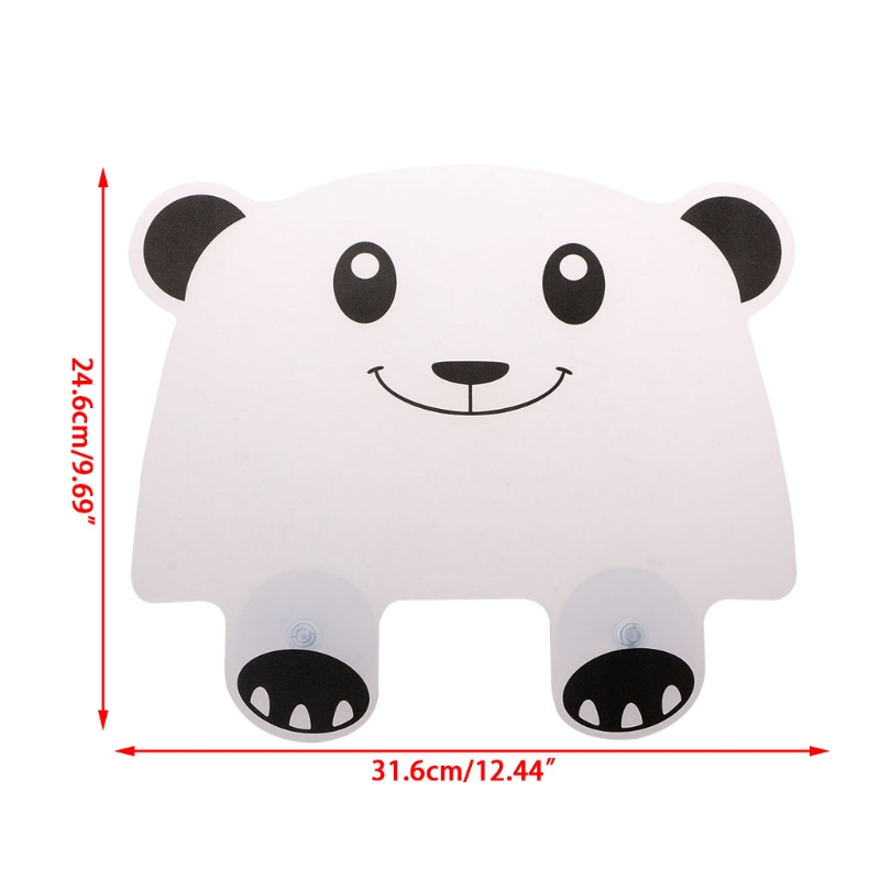 Panda Shape Water Splash Guards Protector Impermeable Retaining Plate kitchen Accessories