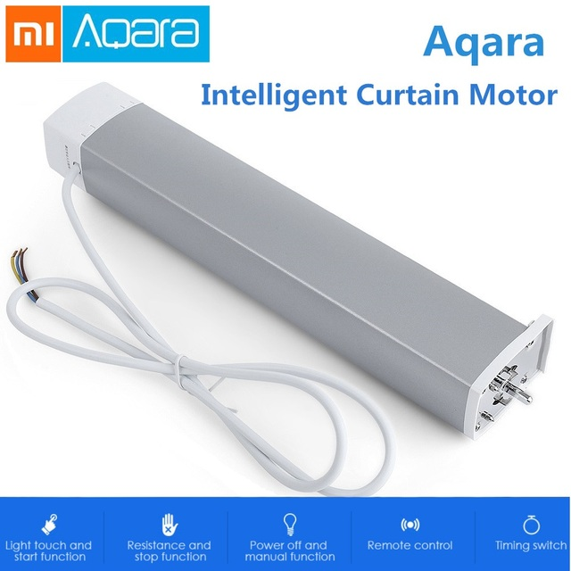 Xiaomi Aqara Inteligentny Inteligentny Silnik Kurtyny ZiGBee Wifi Dla xiaomi Inteligentnego Urządzenia Domowego mi Domu Smarphone APP Remote Control