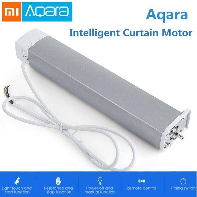 Xiaomi Aqara inteligentny inteligentny silnik kurtyny ZiGBee Wifi dla xiaomi inteligentne urządzenia domowe mi domu aplikacji Smarphone pilot zdalnego sterowania