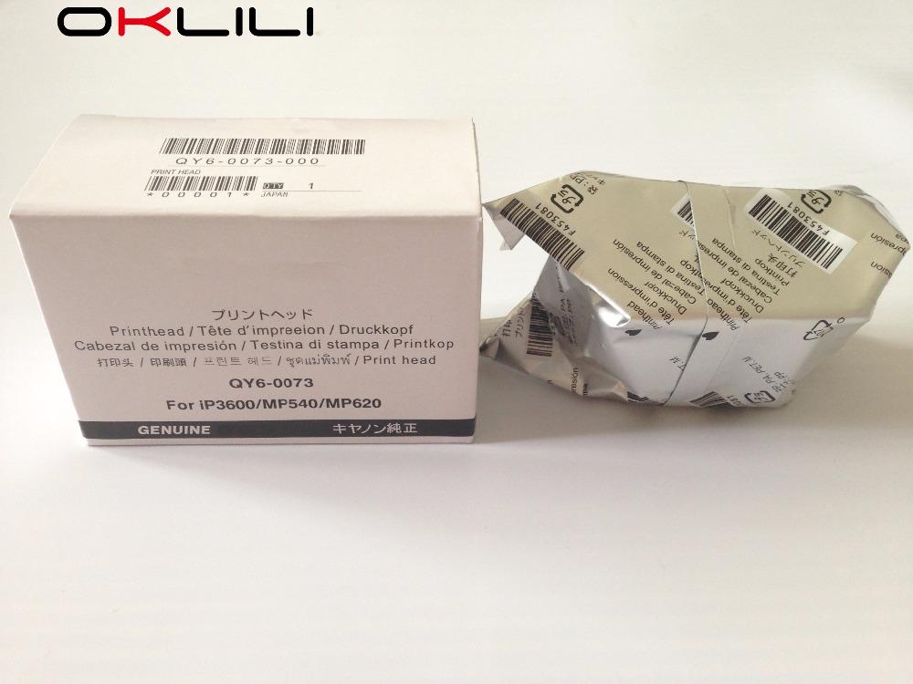 Prix pour ORIGINALE QY6-0073 Tête D'impression Tête D'impression pour Canon iP3600 iP3680 MP540 MP560 MP568 MP620 MX860 MX868 MX870 MX878 MG5140 MG5180