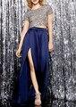 Abrir Dividir Sólido Rosa de Satén Palabra de Longitud Faldas Largas Para Mujer de La Vendimia más Tamaño 6XL 7XL Cintura Alta A-line Maxi Beach Party falda