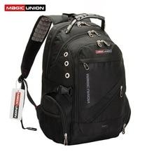 MAGIC UNION Men's Travel Bag Man Big Capacity 17 inch USB Charging Oxford Laptop