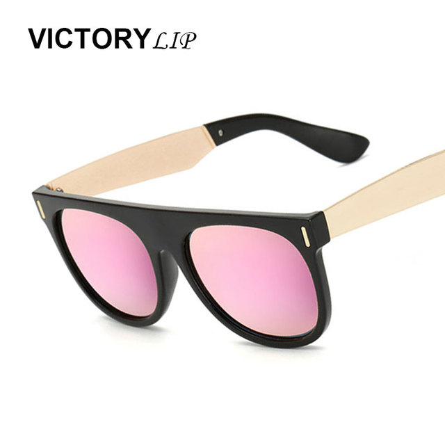 7dbb5557052 Victorylip Fashion Men Polarized Coating Mirror Sun Glasses Male Driving  Fishing Ladies Sunglasses Women Retro Brand Designer