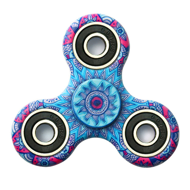 Triangle Gyro Finger Spinner Fidget Plastic EDC Spinner For Autism ADHD Anxiety Stress Relief Focus Toys Gift Spiner HRQ01