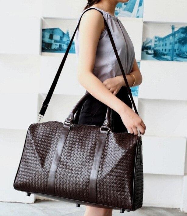 couro bolsa feminina grande bolsa Size : 45*22*31cm