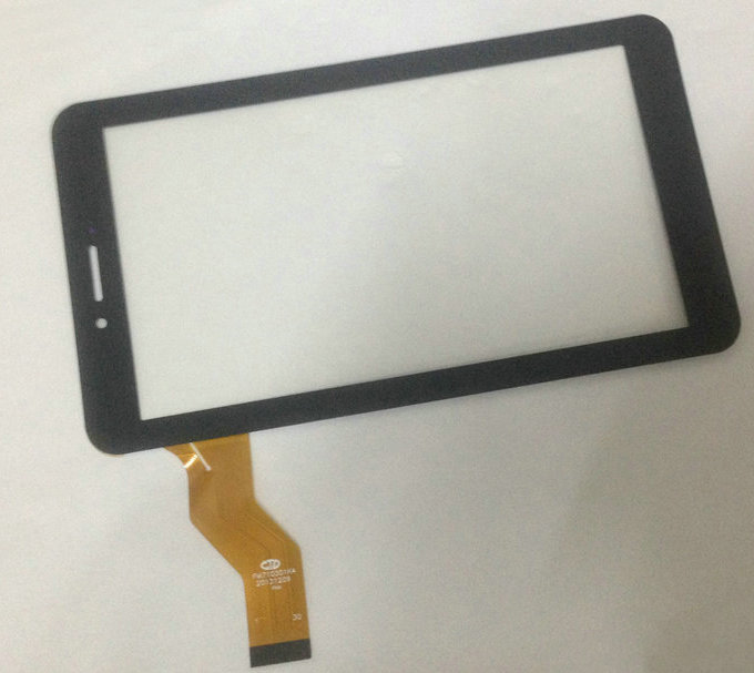 10PCs/lot Original New 7 Inch Touch Screen For Irbis TX69 3G TX17 3G Tablet PC Touch Panel Digitizer Free Shipping new for 8 irbis tz86 3g irbis tz85 3g tablet touch screen touch panel digitizer glass sensor replacement free shipping