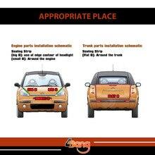 Car Truck  Interior&Exterior Rubber Trim Weatherstrip Seal Strip Pillar Auto Noise Control Proctor Moulding Strip