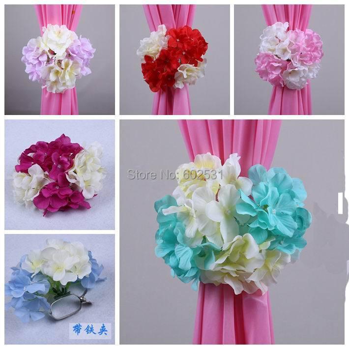 2014 New Korean Hydrangea Flower Clip Wedding Decorations