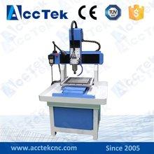 high precision mould cnc engraving machine portable mini AKM4040 cnc router for Sports Medal making