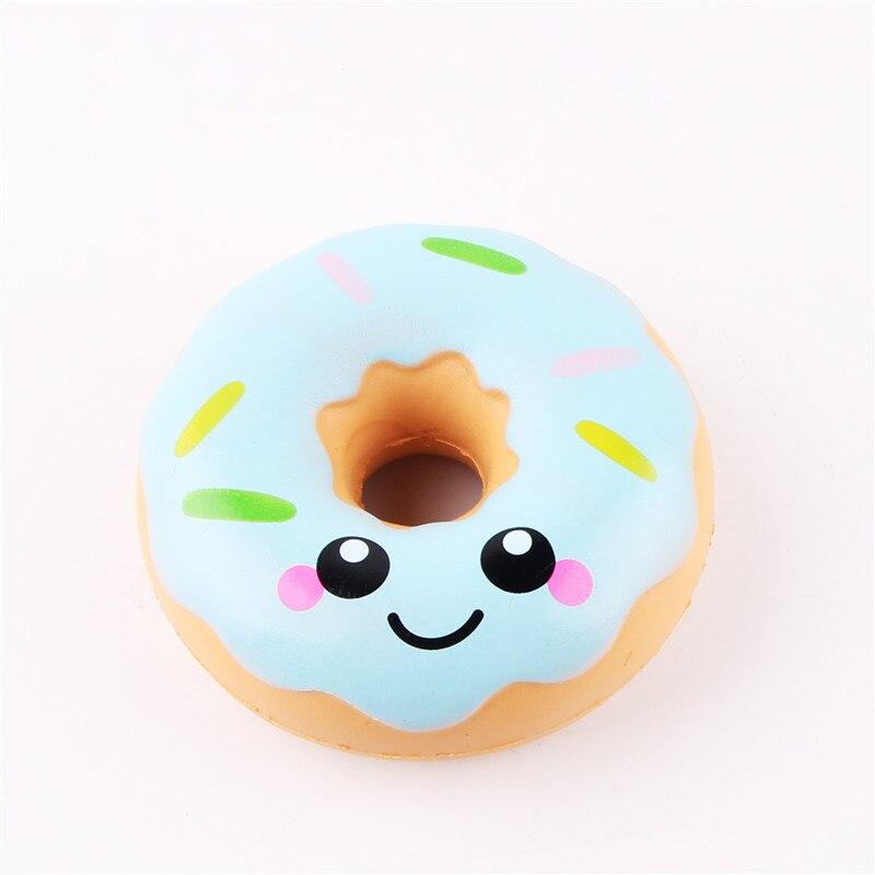 Squishy Doughnut Lento Levantamiento de Estrés Juguetes Para Niños - Nuevos juguetes y juegos - foto 5