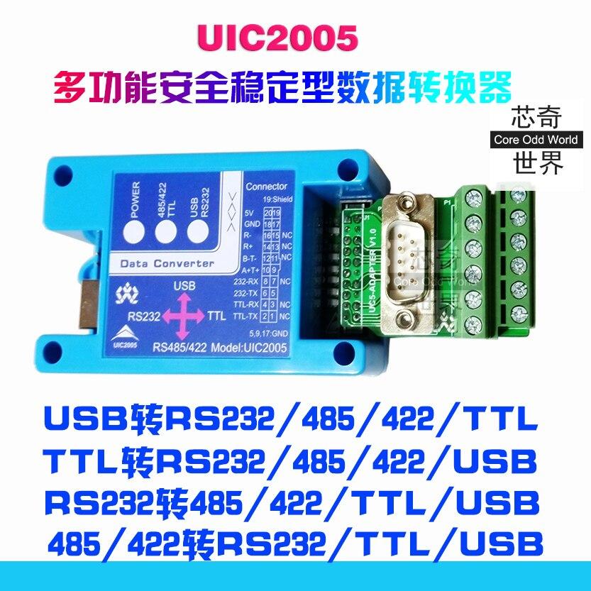 USB a RS232 485 422 Linea Seriale TTL Converter per FT232 COM DB9 AscoltatoreUSB a RS232 485 422 Linea Seriale TTL Converter per FT232 COM DB9 Ascoltatore