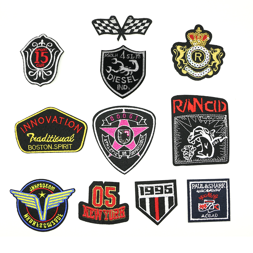 2018 New 1 pcs Iron-on Exquisite Badge Constellation patch Appliques accessory patches D-036